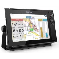 Картплоттер SIMRAD NSS12 evo3 with world basemap