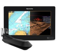 "Raymarine AXIOM 9 RV, Multi-function 9"" Display with integrated RealVision 3D, 600W Sonar with RV-100 transducer"