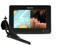 "Raymarine AXIOM 7 DV, Multi-function 7"" Display with integrated DownVision, 600W Sonar including CPT-100DVS transducer"